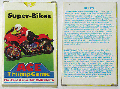Philippines SUPER-BIKES ACE TRUMP PLAYING CARD GAME Complete
