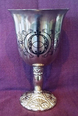 Large Pagan Ceremonial Holy Grail Medieval Chalice Well King Arthur Goblet