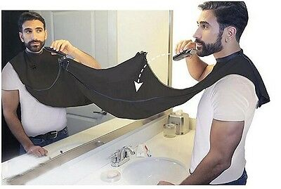 Man Bathroom Accessories Hair Shave Apron Beard Care Trimmer Gown Robe Tool