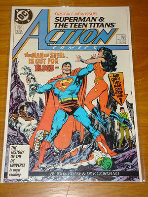 Action Comics #584 Dc Near Mint Condition Superman January 1987