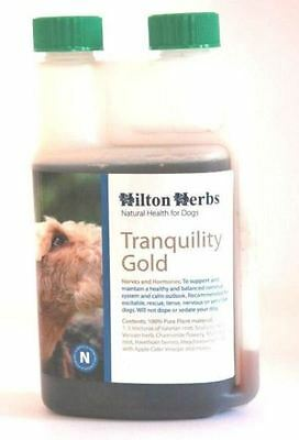 Hilton Herbs - Canine Tranquility Gold Dog Calmer Supplement x 1 Lt