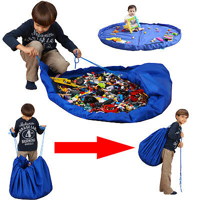 Kids Baby Playmat Toy Storage Bag - Tidy Easy Carry Storage for Toys Play Mat
