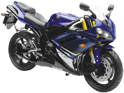 NewRay Die-Cast 1:12 Scale Motorcycle YZF-R1 Blue 2008