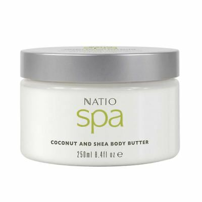 Natio Spa Coconut and Shea Body Butter 250g