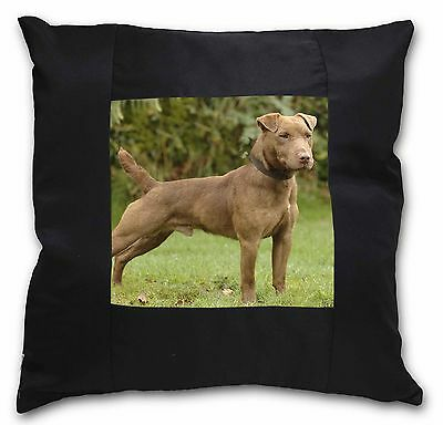 AD-WT1-CPW Welsh Terrier Dog Soft Velvet Feel Cushion Cover With Inner Pillow