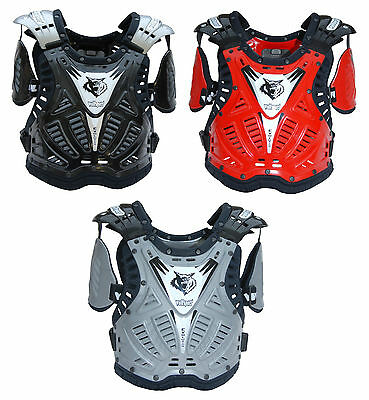 Wulfsport Evo Deflector Adult MX Motocross Enduro Chest Protection Guard