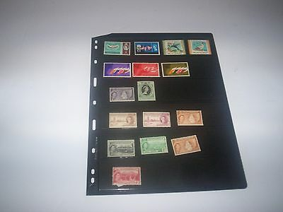BEAUTIFUL Lot of MONTSERRAT Stamps removed from albums MON28
