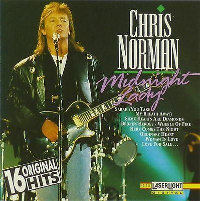 CD - Chris Norman - Midnight Lady - A524
