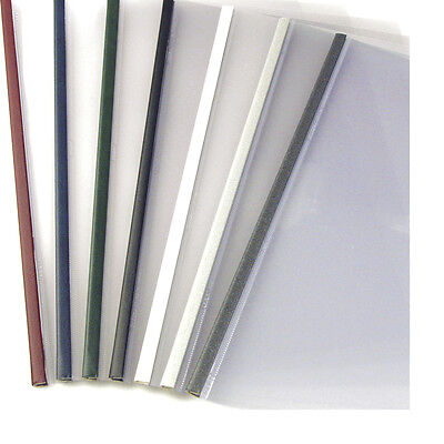 24mm - Bordo - 100pcs UniBind SteelMat Frosted Covers