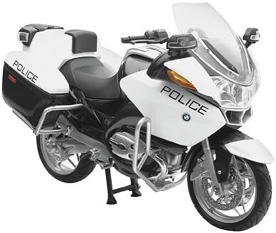 NewRay 1:12 Scale Motorcycle  R1200 RT-P US Police