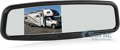 "Advent LCDM41A Replacement Rearview Mirror w/ 4"" Monitor"