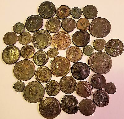 Lot of 39 Ancient Greek, Judaean, Roman Provincial and Roman Imperial Coins.