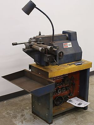 Ammco 1000 Disc Drum Brake Lathe Loaded w/ Tooling #274 Adapters & Bench, too!