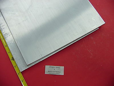 "2 pieces 1/2"" X 12"" ALUMINUM 6061 FLAT BAR 14"" long Solid T6511 Plate Mill Stock"