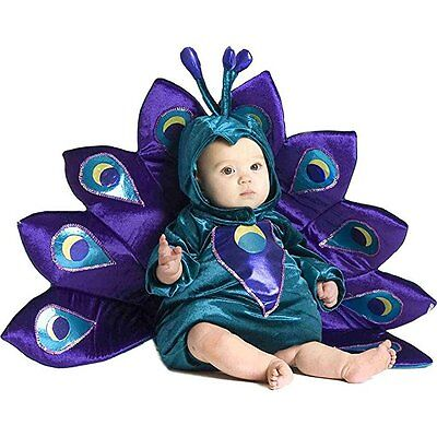 Princess Paradise Peacock Infant Baby Toddler Girl ThemeParty Halloween Costume