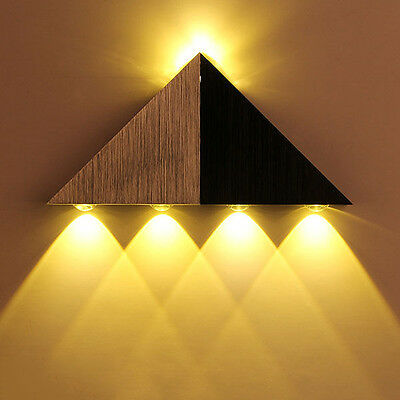 New 5W Modern LED Wall Light Up Down Cube Indoor Outdoor Sconce Lighting Lamp