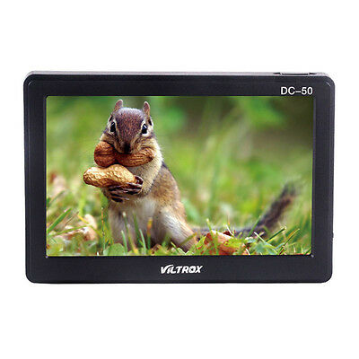 "Viltrox DC-50 HD 5""Inch LCD Video Monitor Wide View for DSLR Camera DV Camcorder"