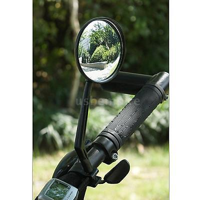 New Bike Bicycle Cycling Rear View Mirror Handlebar Glass Flexible Rearview M8P3