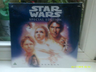 STAR WARS Special Edition Widescreen RARE UK PAL Laserdisc : Brand New & Sealed