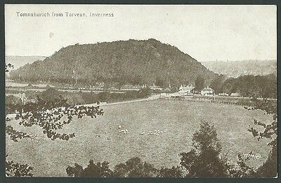Inverness Tomnahurich From Torvean Vintage Valentine Printed Postcard