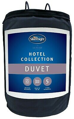 Silentnight Hotel Collection Duvet / Quilt - 13.5 Tog - Single Double or King