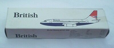 Early British Model Boeing B737-200 boxed