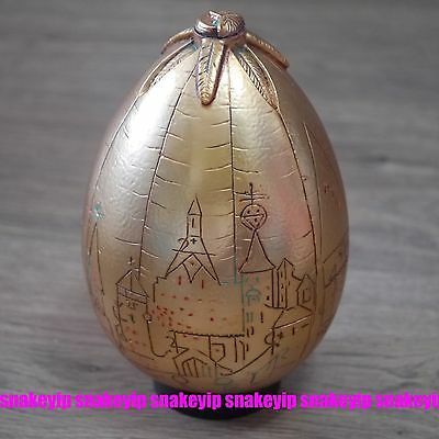 The Noble Collection Harry Potter Golden Egg Officiall Replica Note Condition!