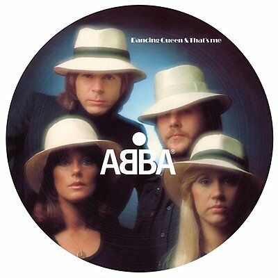 """ABBA DANCING QUEEN LIMITED EDITION 7"""" PICTURE DISC 40th Anniversary (2016)"""
