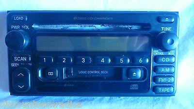 2000-2002 Toyota Celica 56816 Radio 6 CD Cassette Face Plate Replacement