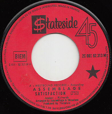 ASSEMBLAGE satisfaction 45 uptempo FREAKBEAT northern soul PSYCH MOD dancer ♬
