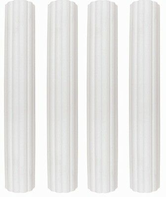 "PME 4 pack 6"" Plastic Hollow Dowel Rods Pillars Wedding Tiered Cake Support"