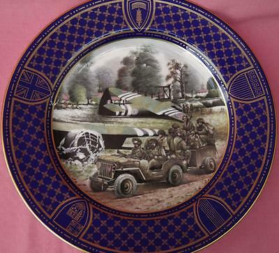 Spode Operation Overlord Plate Airborne Forces Anniversary D-Day Landings Boxed