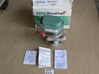 "+New In Box Asco  1"" 2-Way Stainless  Solenoid Valve Wp8210D89 Norm. Closed 120V"
