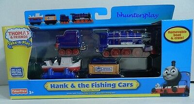 NEW Fisher-Price Thomas the Train Take N Play Hank & the Fishing Cars T4762