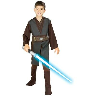 Anakin Skywalker Jedi Costume Star Wars Halloween Fancy Dress