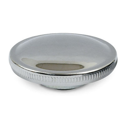 Chrome Vented Gas Cap For Harley-Davidson 1973-85