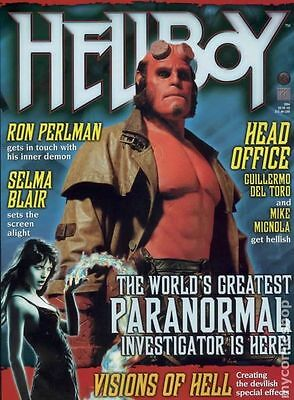 Hellboy Official Movie Souvenir Magazine (2004) #1B VF