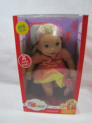 """New Fisher Price 14"""" DOLL Little Mommy ~ Ballet Bright ~ 1st Friend Sweet as Me"""