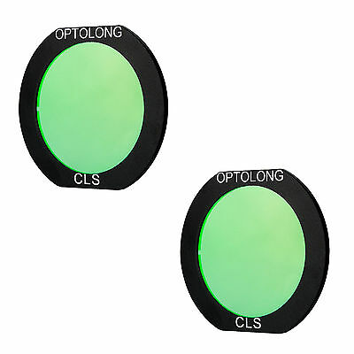2x OPTOLON CLS Deepsky Clip-on Filter for Canon EOS Cameras for Astrophotography