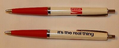 1970's Coca Cola Coke Its The Real Thi advertising ball point pens FREE SHIPPING