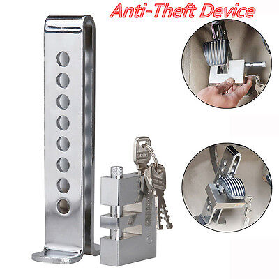 Stainless Steel Car Off-Road Interior 8 Hole Clutch Anti-Theft Brake Strong Lock