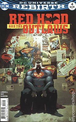 Red Hood and the Outlaws (2016) #4B NM