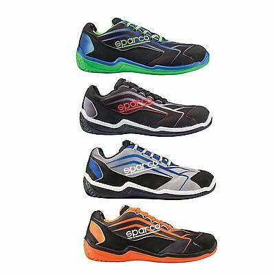 Sparco Touring L Low Top Workshop/Leisure/Garage/Mechanic Lightweight Shoes