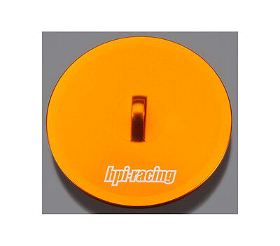 HPI 86700 Aluminum Air Filter Maintenance Cap Orange HPI86700