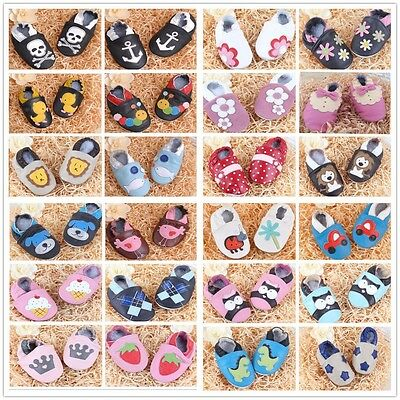 Baby Genuine Leather Newborn Boot Infant Prewalker Boy Girl Soft Sole Shoes