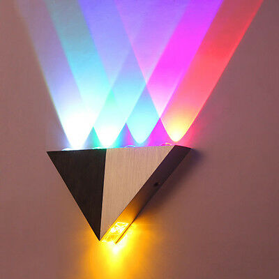 Modern LED Wall Light Indoor Up & Down Lighting 5W Sconce Lamp Cool White Lights