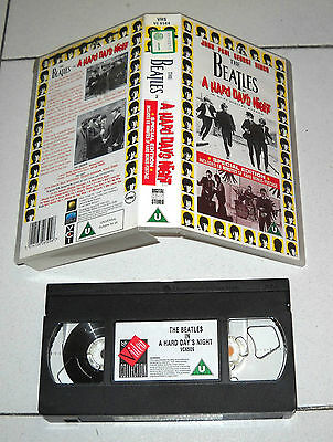Vhs THE BEATLES A hard day's night SPECIAL EDITION 1995
