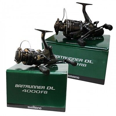 NEW Shimano Baitrunner DL 4000 FB Carp Fishing Reel - BTRDL4000FB