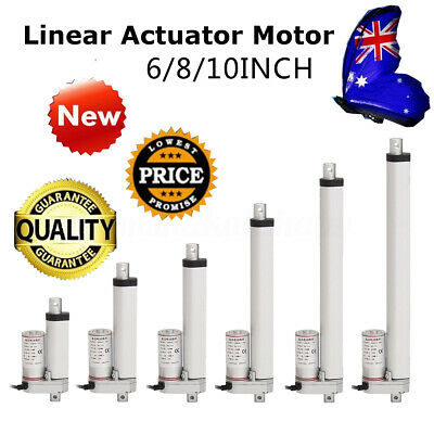12V 750N 50~300mm Linear actuator Motor Adjustable Opener Heavy Duty Lifting