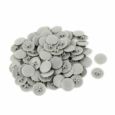 Plastic Round Shaped Cover Screw Cap Lid White 50pcs For 5mm Dia Hole Sale Price Furniture Accessories